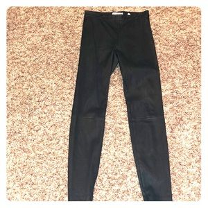 NWOT VINCE 100% leather leggings